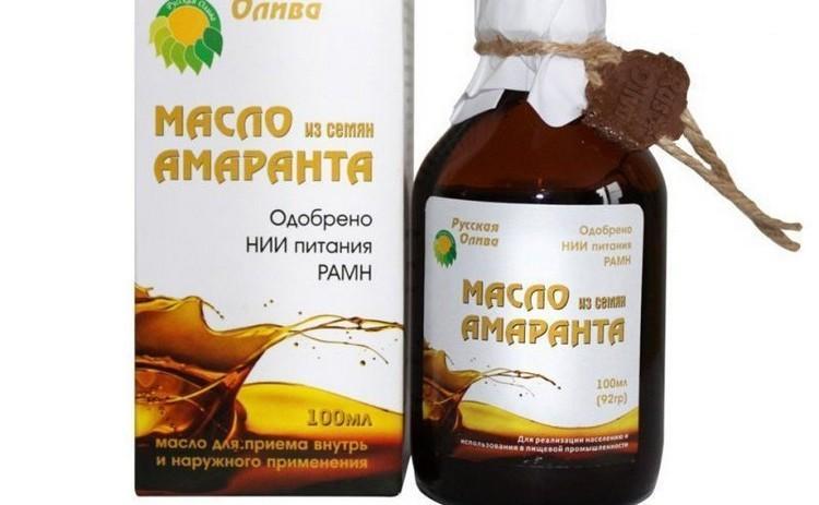 домашнее масло из амаранта