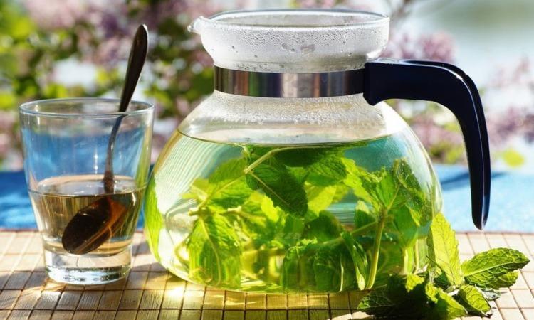 Чай с мятой: в чем его польза