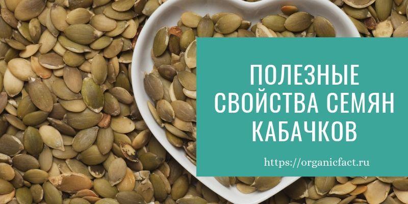 Полезные свойства кабачковых семечек