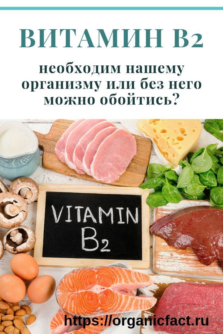 Значение В2 для здоровья