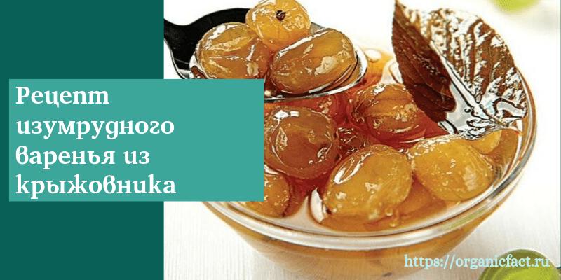 Рецепт изумрудного варенья с вишневыми листьями