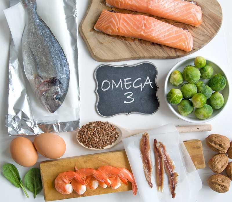 В каких продуктах содержится омега-3