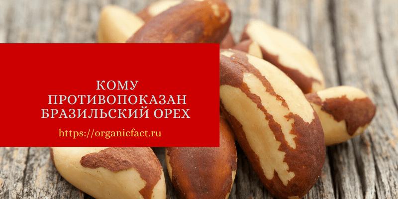 Потенциальная опасность и противопоказания бразильского ореха