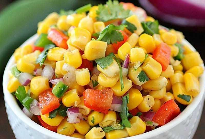 Консервированная кукуруза в кулинарии