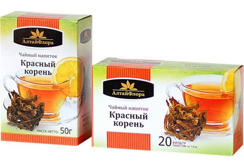 Красный корень также доступен в форме рассыпного чайного напитка