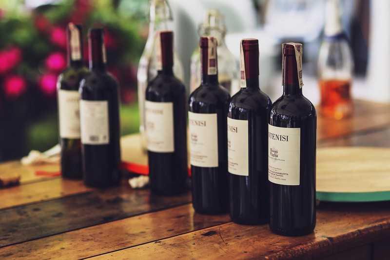 Полусладкие и домашнее красные вина
