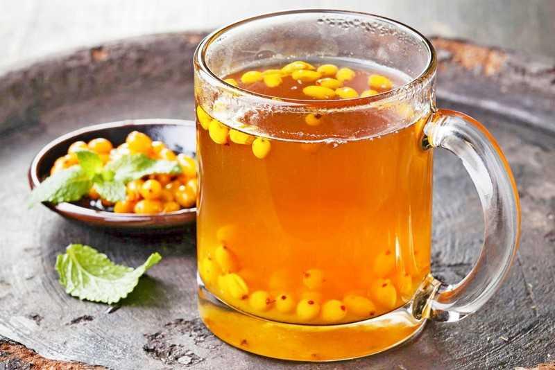 Польза чая из ягод