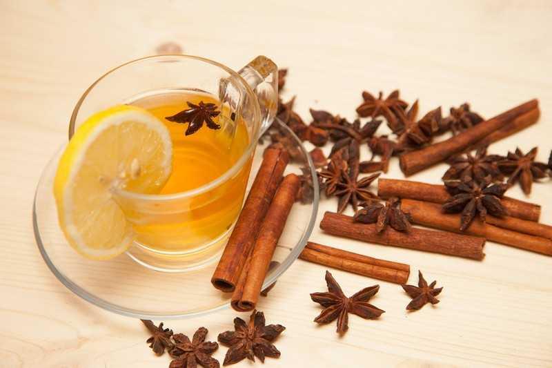 Чай с корицей и лимоном рецепт