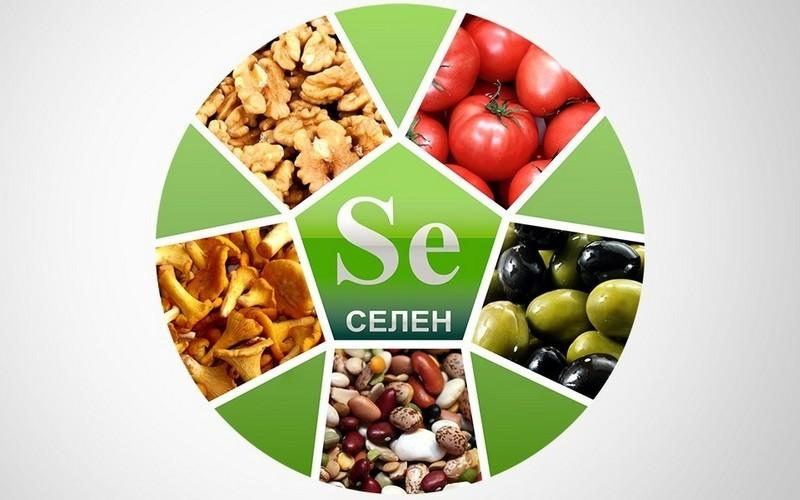 В каких продуктах содержится селен, суточная норма
