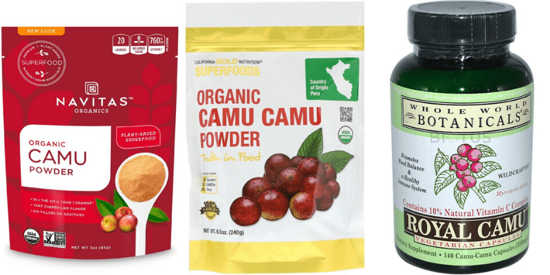 каму-каму выпускается в виде экстрактов и концентрированных добавок