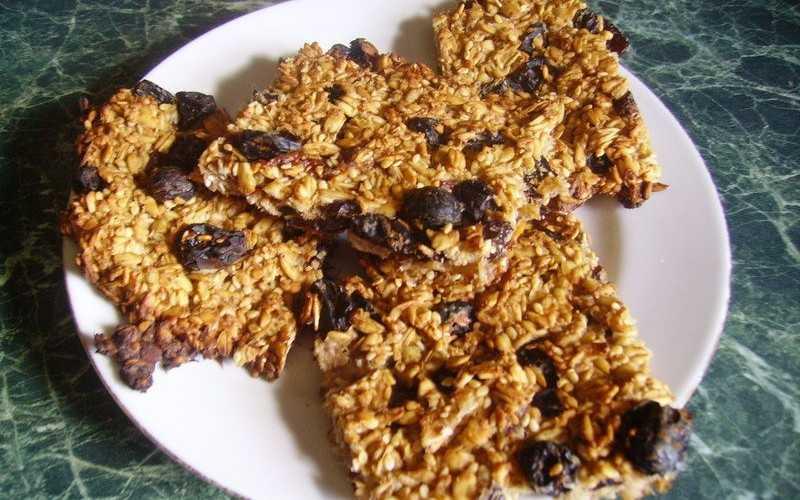 Диетическое овсяное печенье с отрубями