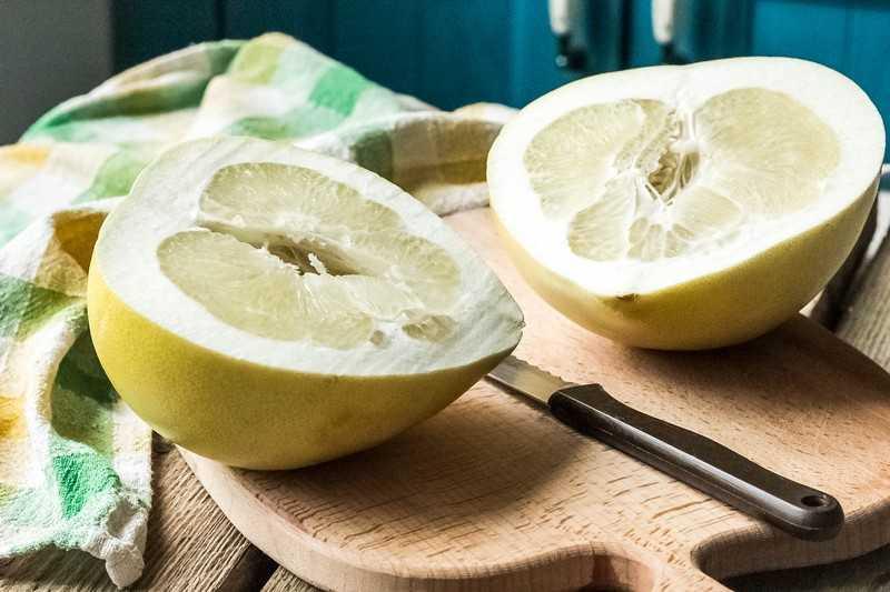 Полезные свойства помело при похудении