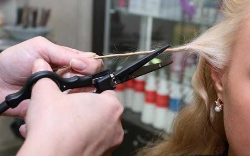 Секущиеся кончики волос. Способ 4 «Жгутики»
