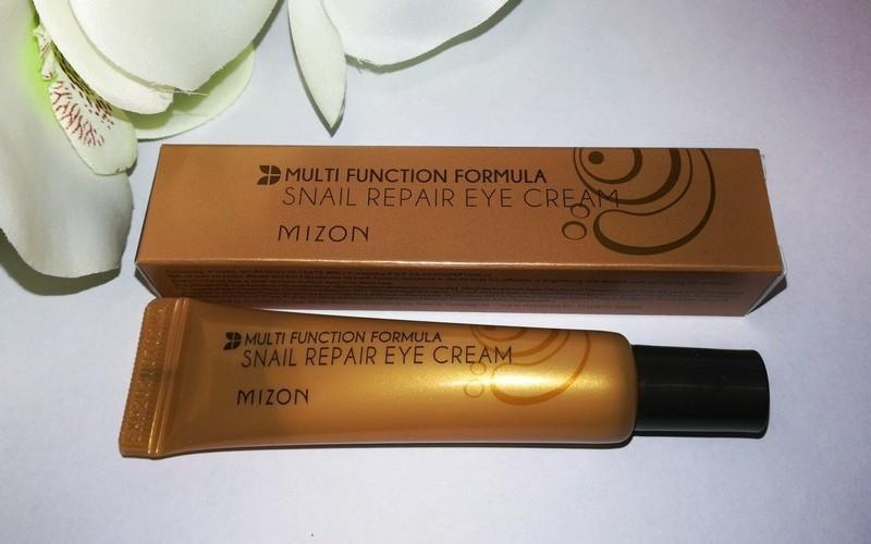 Крем для кожи вокруг глаз Mizon Snail Repair Eye Cream с экстрактом улитки