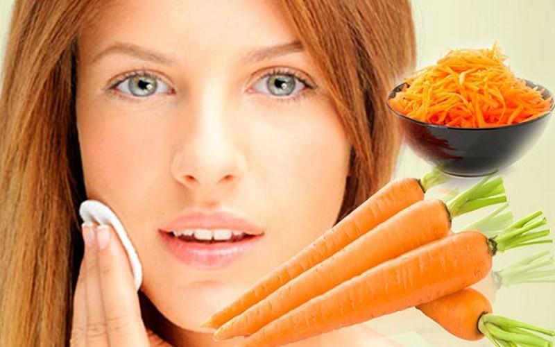 Рецепты морковных масок для лица в домашних условиях