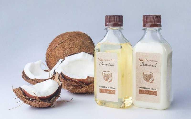 Убираем морщины на лбу с помощью кокосового масла