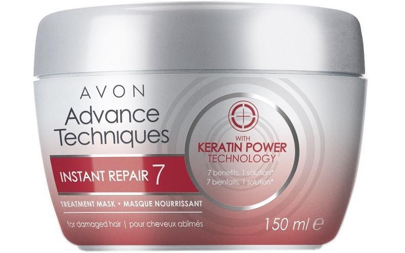 маски для восстановления поврежденных волос Avon