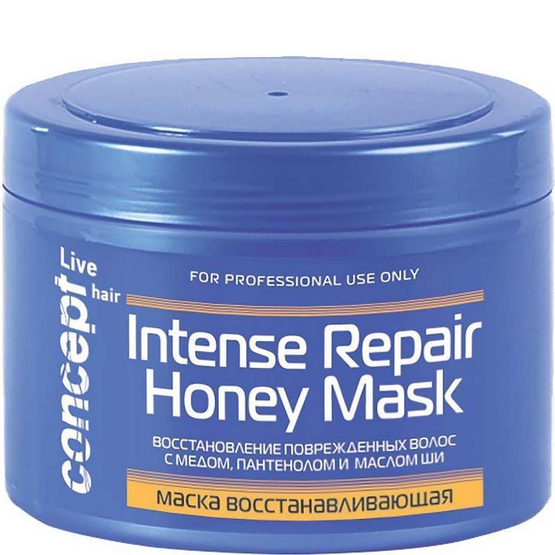 маски для восстановления поврежденных волос Concept Live Hair