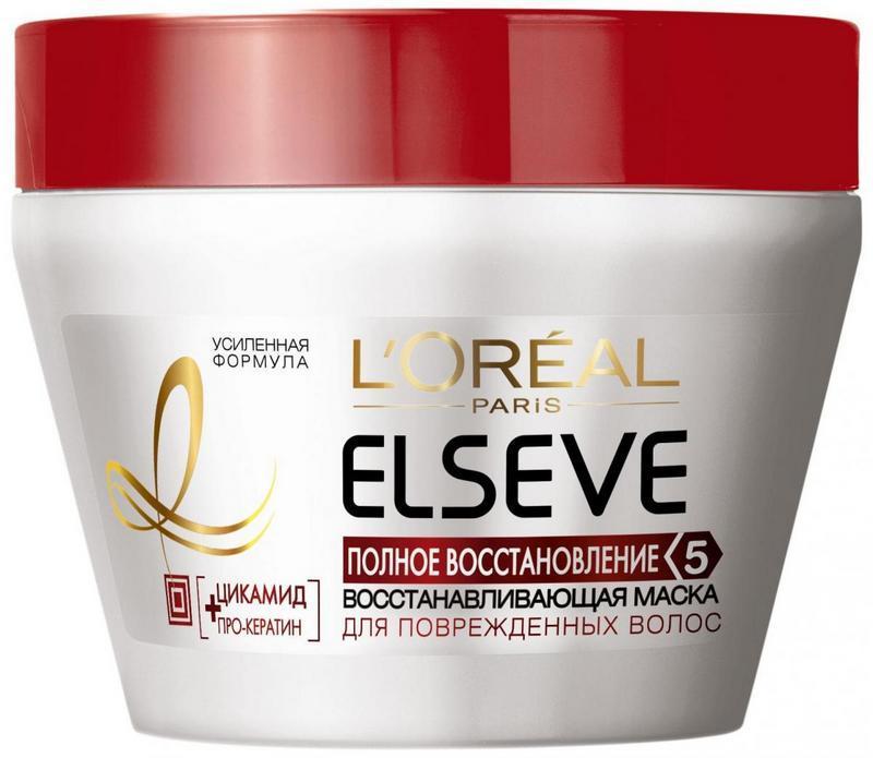 маски для восстановления поврежденных волос L'Oreal