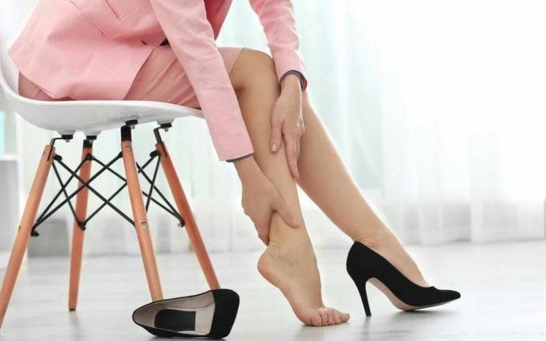 Причины тяжести в ногах ниже колена у женщин, как с этим бороться