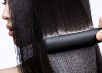 Выпрямление волос нанопластикой в салоне и в домашних условиях